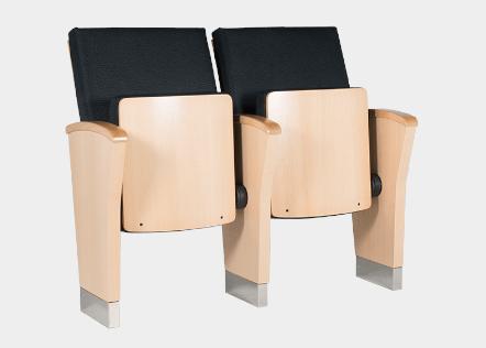 Cadeiras de Auditório Azahar Atelier 360