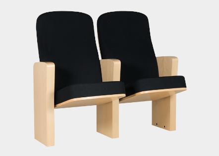 Cadeiras de Auditório Lugano Atelier 360